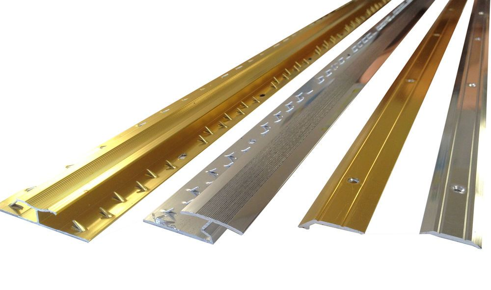 Brass Silver Threshold Strips Door Bars Various Types